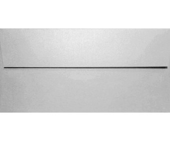 Ümbrikud Curious Metallics E65 - White Silver, 20 tk