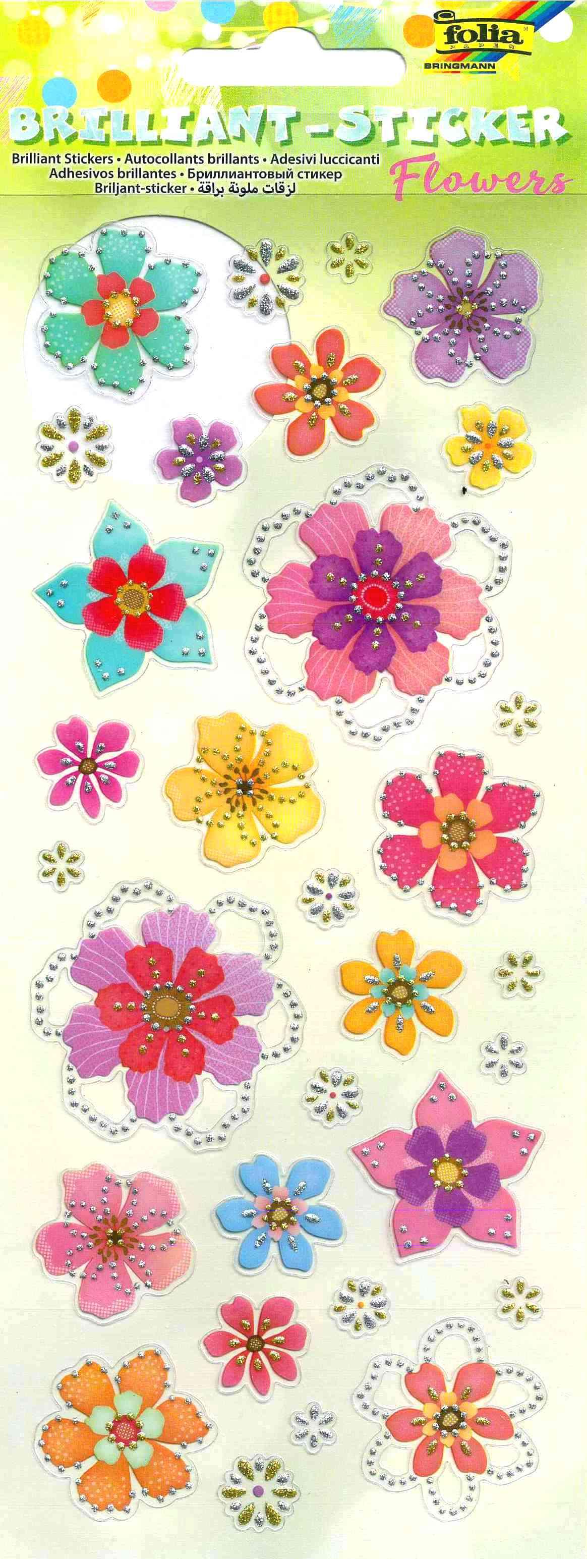 13275758b95 Sädelevad kleebised Folia - lilled